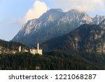 schloss neuschwanstein in...   Shutterstock . vector #1221068287