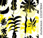 floral seamless pattern. vector ...   Shutterstock .eps vector #1221078064