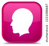 head men face icon isolated on... | Shutterstock . vector #1221088687