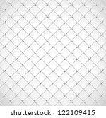 background with soccer goal net.... | Shutterstock .eps vector #122109415