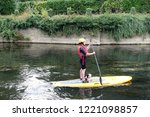 bradford on avon  uk   august 3 ... | Shutterstock . vector #1221098857