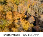aerial drone image of colorful...   Shutterstock . vector #1221110944