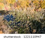 aerial drone image of colorful...   Shutterstock . vector #1221110947