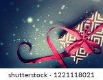 christmas holidays background | Shutterstock . vector #1221118021