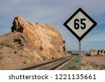signs to the train speed  speed ...   Shutterstock . vector #1221135661