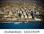 dramatic aerial view of...   Shutterstock . vector #122114149