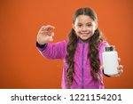 take vitamin supplements. eat... | Shutterstock . vector #1221154201
