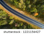 aerial view of the road in... | Shutterstock . vector #1221156427