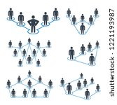 people connection  people... | Shutterstock .eps vector #1221193987