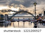 newcastle  england november 4 ... | Shutterstock . vector #1221200527