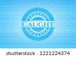 caught water wave...   Shutterstock .eps vector #1221224374