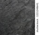 dark grey black slate... | Shutterstock . vector #1221248641