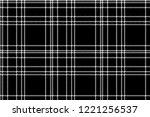 monochrome check plaid black...   Shutterstock .eps vector #1221256537