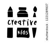 vector illustration of creative ... | Shutterstock .eps vector #1221289837
