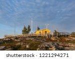bjuroklubb  sweden on september ... | Shutterstock . vector #1221294271