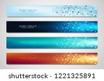 vector banners and headers for... | Shutterstock .eps vector #1221325891