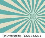 sunlight wide retro faded... | Shutterstock .eps vector #1221352231