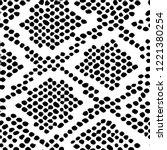 snake skin pattern texture... | Shutterstock .eps vector #1221380254