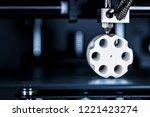 cartridges and revolver drum...   Shutterstock . vector #1221423274