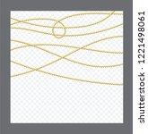 golden or bronze color round... | Shutterstock .eps vector #1221498061
