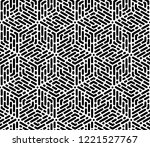 abstract geometric pattern with ... | Shutterstock . vector #1221527767