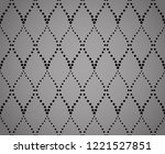 the geometric pattern with wavy ... | Shutterstock . vector #1221527851