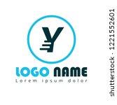 letter y logo concept. designed ...