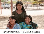 colombia indigenous people of... | Shutterstock . vector #1221562381
