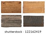collection of various  empty... | Shutterstock . vector #122162419