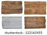 collection of various  empty... | Shutterstock . vector #122162455