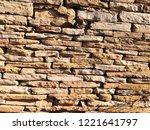 stone wall texture   Shutterstock . vector #1221641797