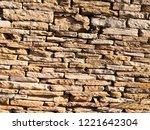 stone wall texture   Shutterstock . vector #1221642304