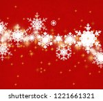 abstract snowflakes. 2d... | Shutterstock . vector #1221661321