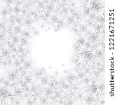 christmas background with white ... | Shutterstock .eps vector #1221671251