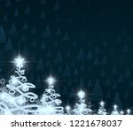 2d illustration. abstract... | Shutterstock . vector #1221678037