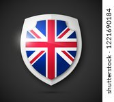 protected guard shield united... | Shutterstock .eps vector #1221690184