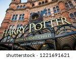 london  february  2018  palace... | Shutterstock . vector #1221691621