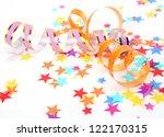 confetti and streamer | Shutterstock . vector #122170315