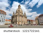 july 6  2018. church of our... | Shutterstock . vector #1221722161