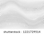 wave stripe background   simple ... | Shutterstock .eps vector #1221729514