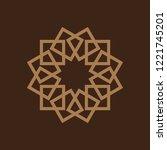 motif vector drawing | Shutterstock .eps vector #1221745201