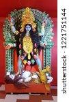 kolkata  west bengal  india  ... | Shutterstock . vector #1221751144