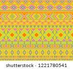 peruvian american indian... | Shutterstock .eps vector #1221780541