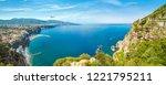 daylight panoramic view of... | Shutterstock . vector #1221795211