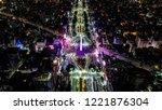 obelisk of buenos aires. aerial ...   Shutterstock . vector #1221876304