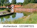 fortress citadel of pillau ... | Shutterstock . vector #1221887221