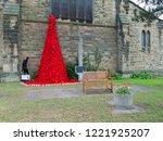 wrexham  uk   october 31  2018  ...   Shutterstock . vector #1221925207