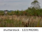 rough nature with withered...   Shutterstock . vector #1221982081