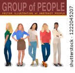 company people business work ... | Shutterstock .eps vector #1222045207