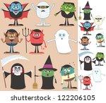 Halloween Characters ...